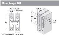 Door Thickness & Interior Door Thickness Average Door