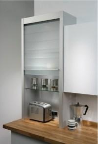 Hafele Glass Tambour Door System