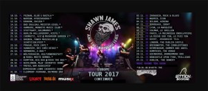 CARTEL TOUR Shawn James & The Shapershifter