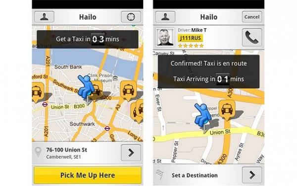 Pide un taxi desde tu movil con estas aplicaciones
