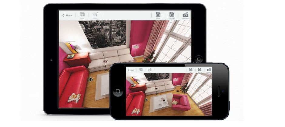 Living room 3d for ikea la app para crear y decorar tu casa for App para crear casas 3d