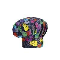 Cappello Cuoco Color Skulls