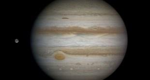 Jupiter, Ganímedes y la Gran Mancha Roja
