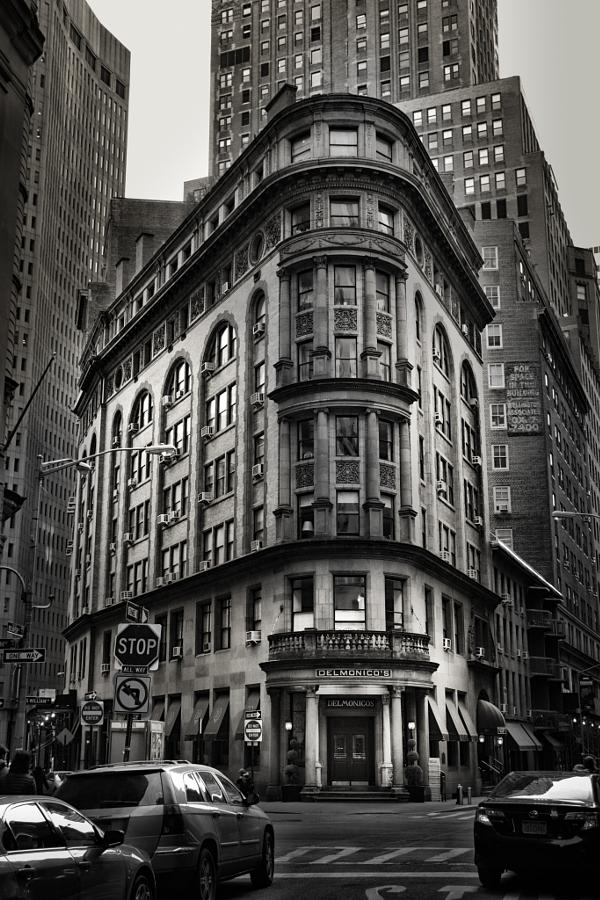 New York Restaurant Delmonico's Manhattan