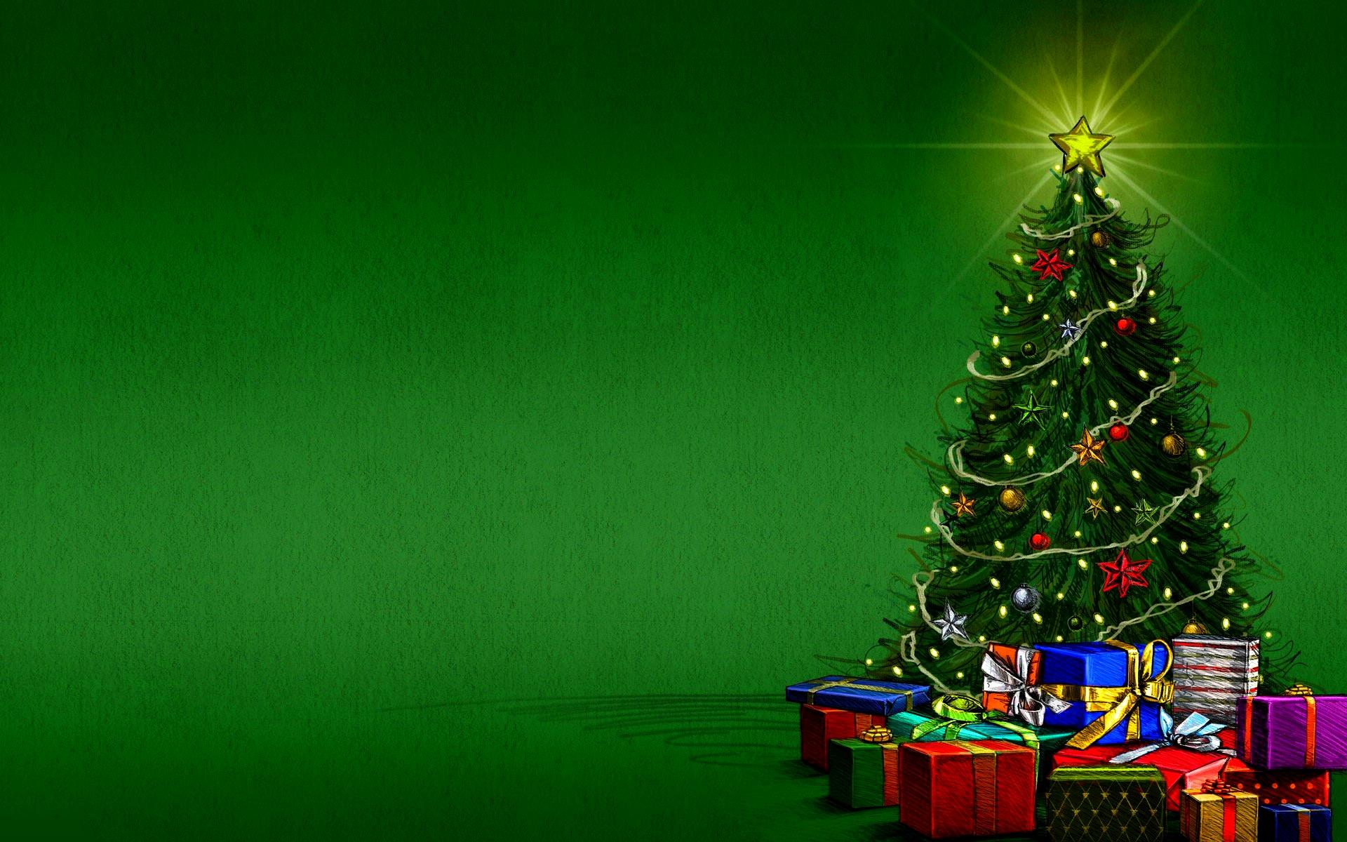 Fondos De Pantalla Para Navidad: Descargar Arbol De Navidad Animado Para Pc