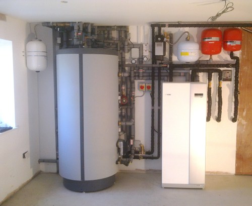 small resolution of ground source heat pump installation pictures