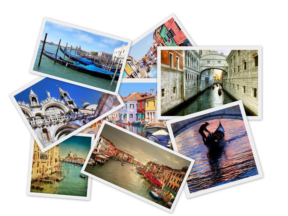 קולאג' ונציה צלם