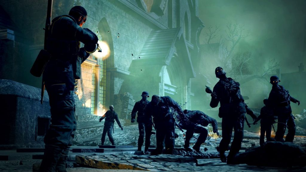 Zombie Army Trilogy Switch captura de pantalla, screenshot, portada (12)
