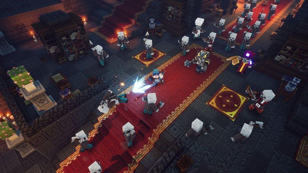 Tráiler, capturas, noticias de Minecraft Dungeons Nether Update, Jungle Awakens DLC