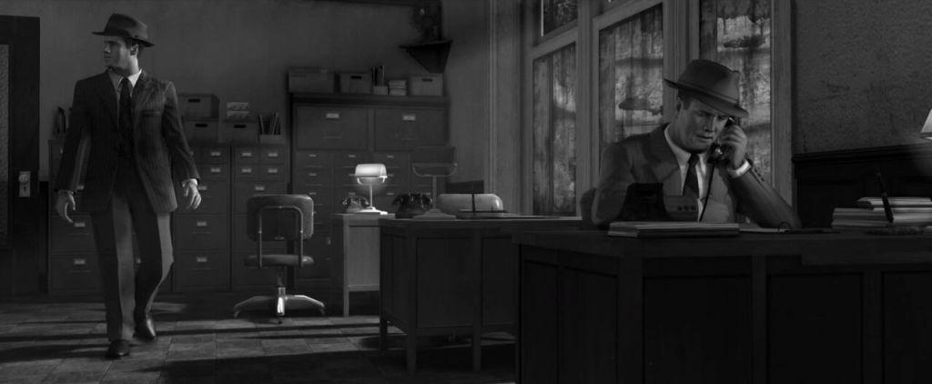 LA Noire screenshots capturas filtro blanco y negro, noir, black and white (24)