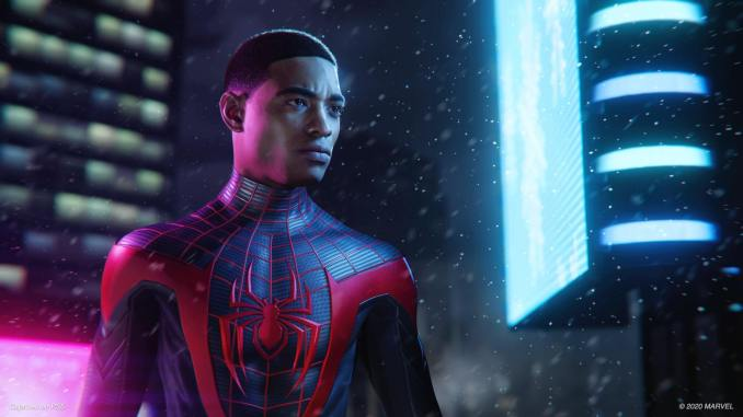 Tráiler de Spiderman 2 en el evento de PS5