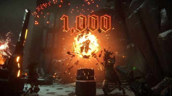 Tráiler de revelación anuncio de Metal Hellsinger en Summer of Gaming, capturas de pantalla, screenshots, fecha de lanzamiento