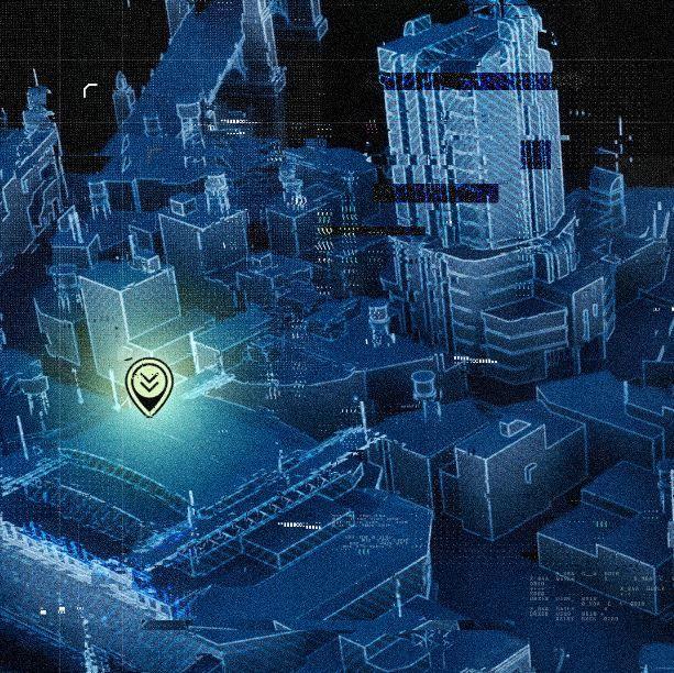 Batman-Corte-de-los-Búhos-Warner-Bros-Montreal-pistas-mapa-holograma