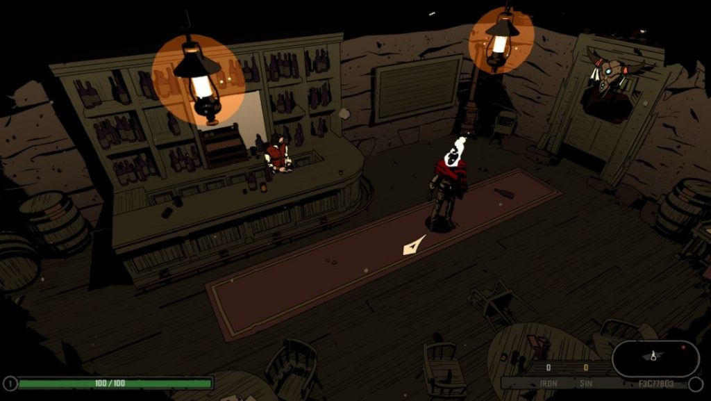 West-of-Dead-screenshots-reseña-bar-comienzo