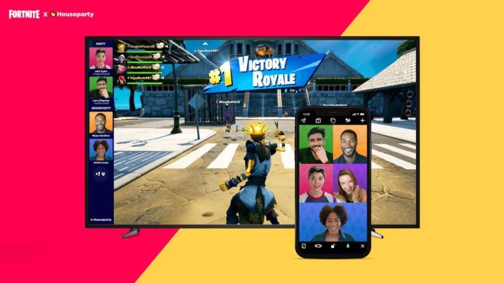 Fortnite: Cómo sincronizar las videollamadas de Houseparty