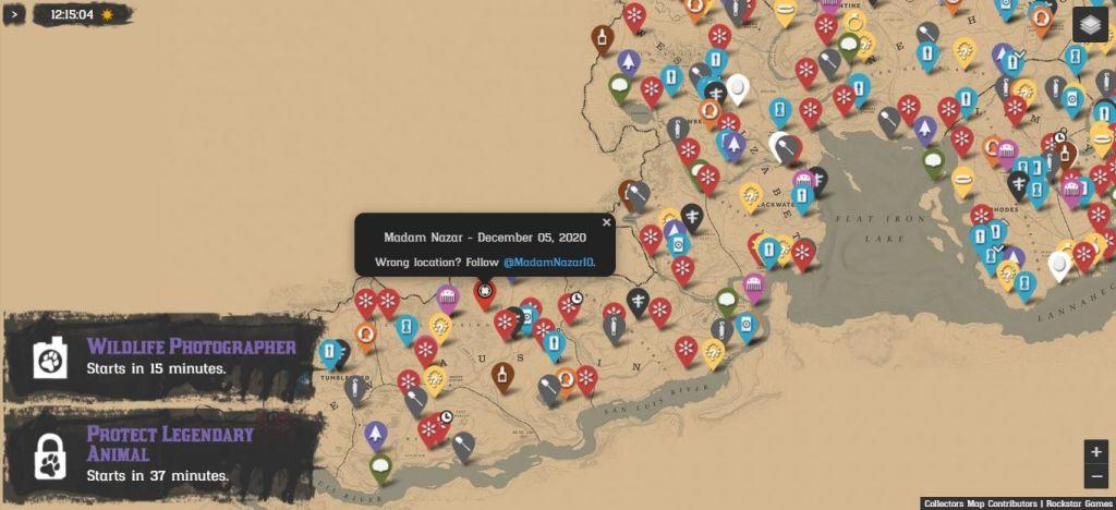 Red-Dead-Online-Mapa-Coleccionables-Madam-Nazar-1