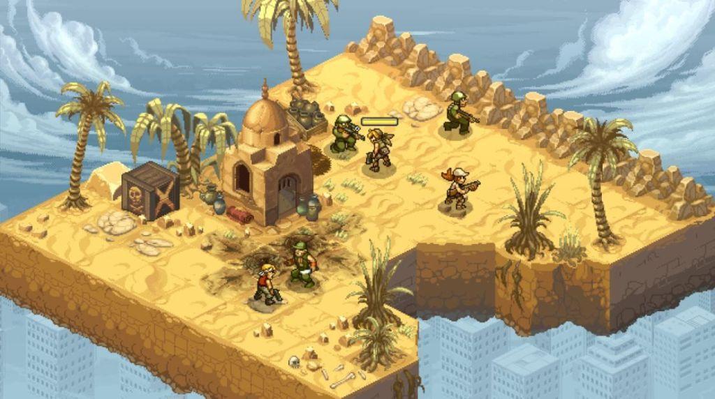 Metal-Slug-Tactic-combates-screenshots