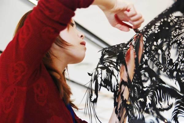 Solo Kojima - Paper Cut Art Sculpture Design Consultants