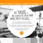 diseño web the taste creative