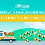 diseño web the honey project