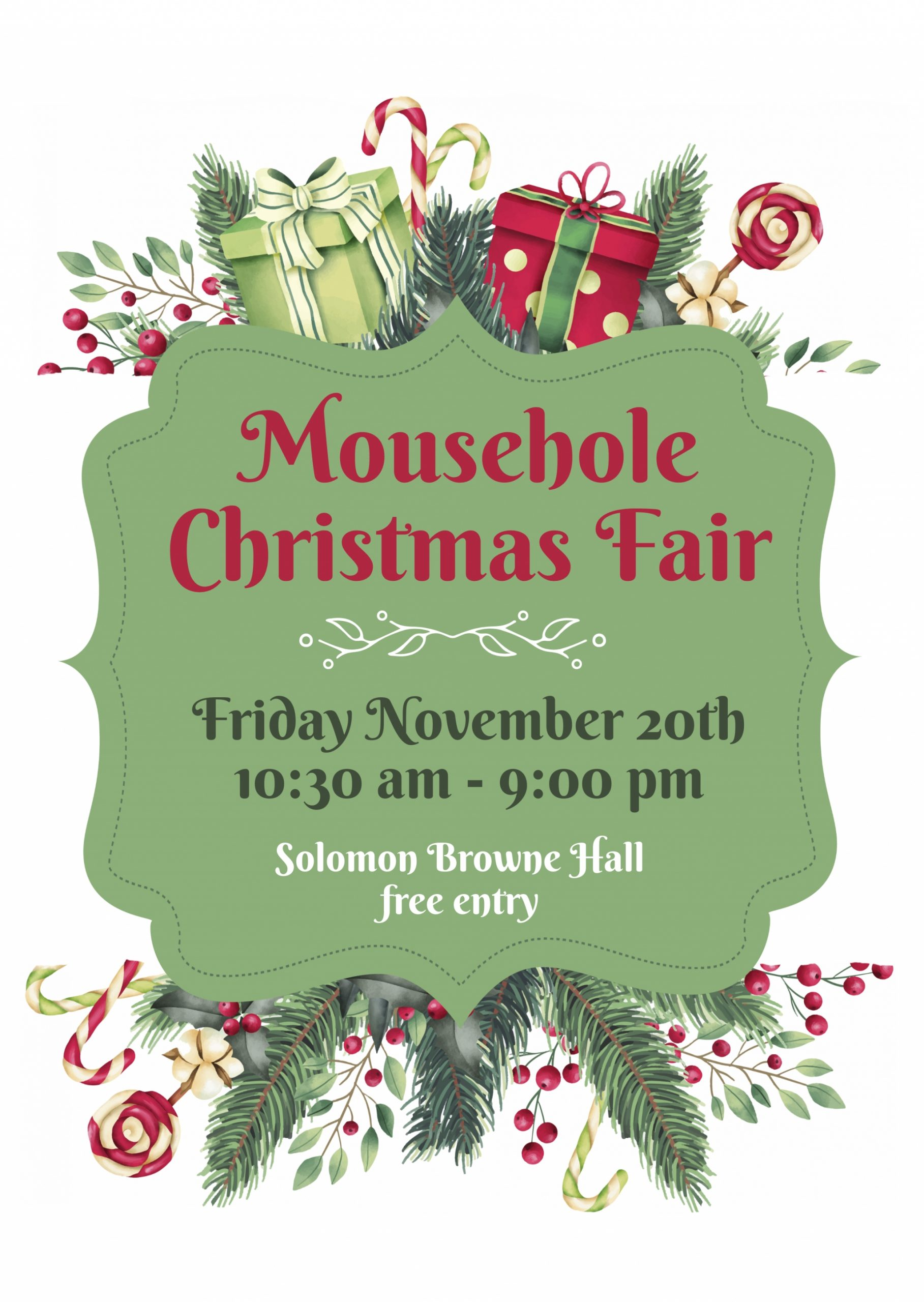 Mousehole Christmas Craft Fair