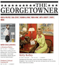 Kitty Kelley on the home page of The Georgetowner site