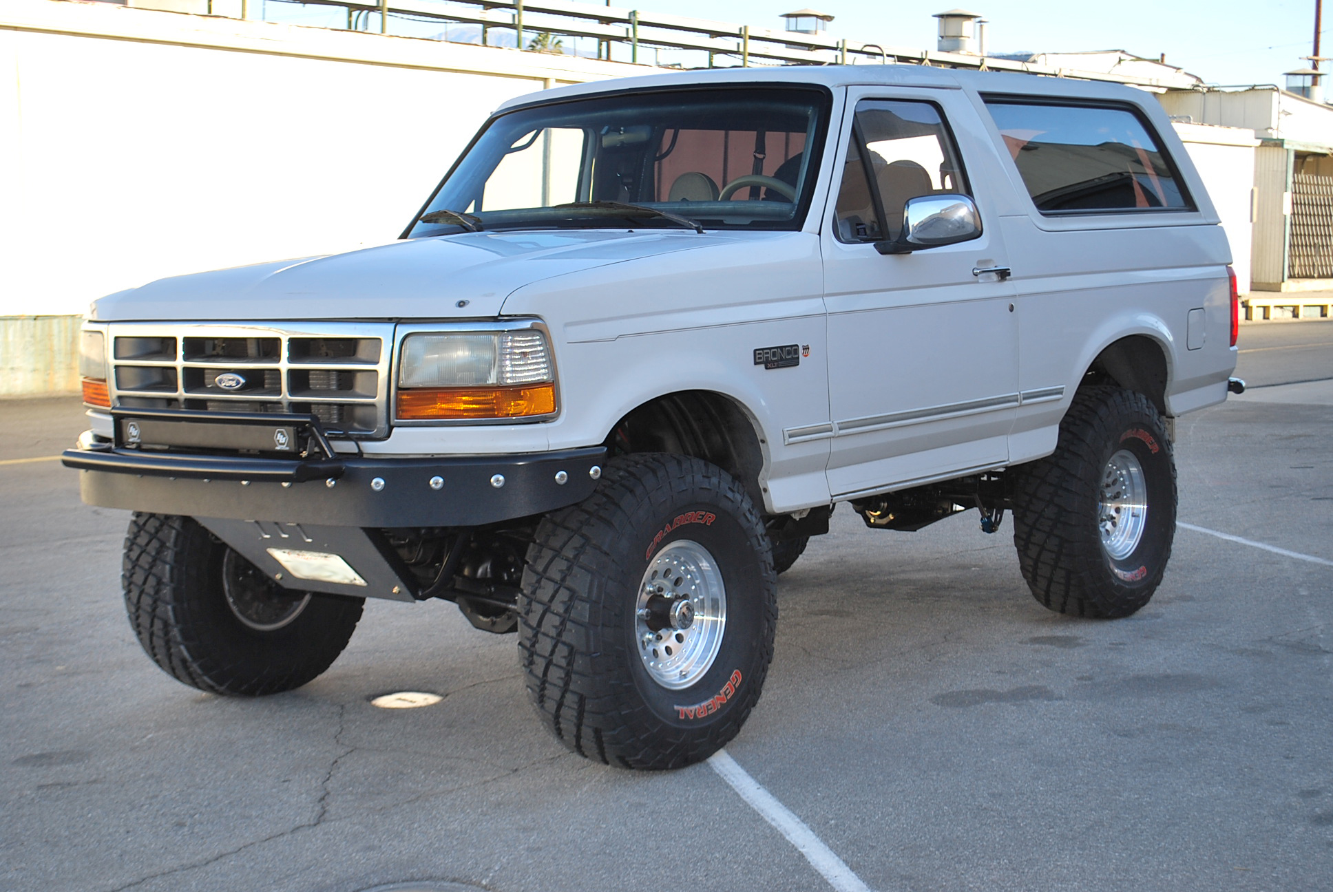 ford f150 bronco 1996 jeep grand cherokee wiring diagram stage 4 long travel front 43 rear suspension kit