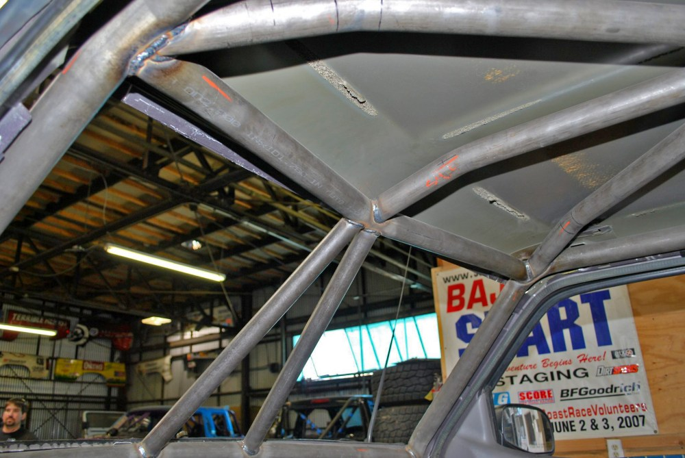 medium resolution of race legal roll cage ford ranger