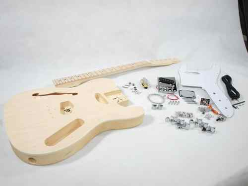small resolution of solo tc style diy guitar kit semi hollow maple top maple neck diy guitar kits semi hollow body guitar wiring diagrams