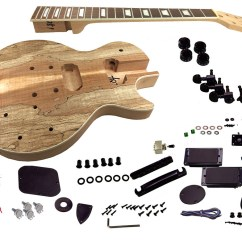 Wiring Diagram For Les Paul Style Guitar Pid Digital Temperature Controller Solo Lp And Unfinished Diy Kit Mahogany Body Spalted Parts Canada
