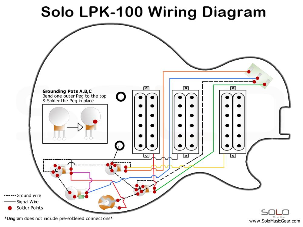 medium resolution of 3 pickup wiring diagram wiring library gibson humbucker diagram 3 humbucker wiring diagram