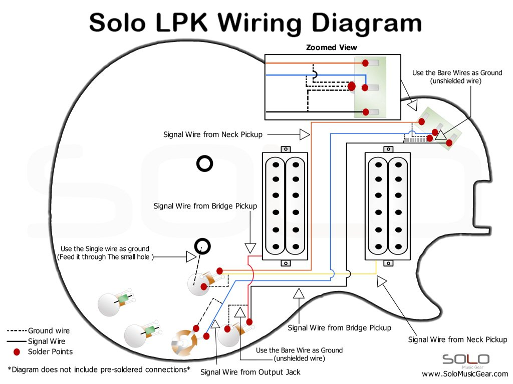 Solo Lp Set Neck Style Wiring Guide