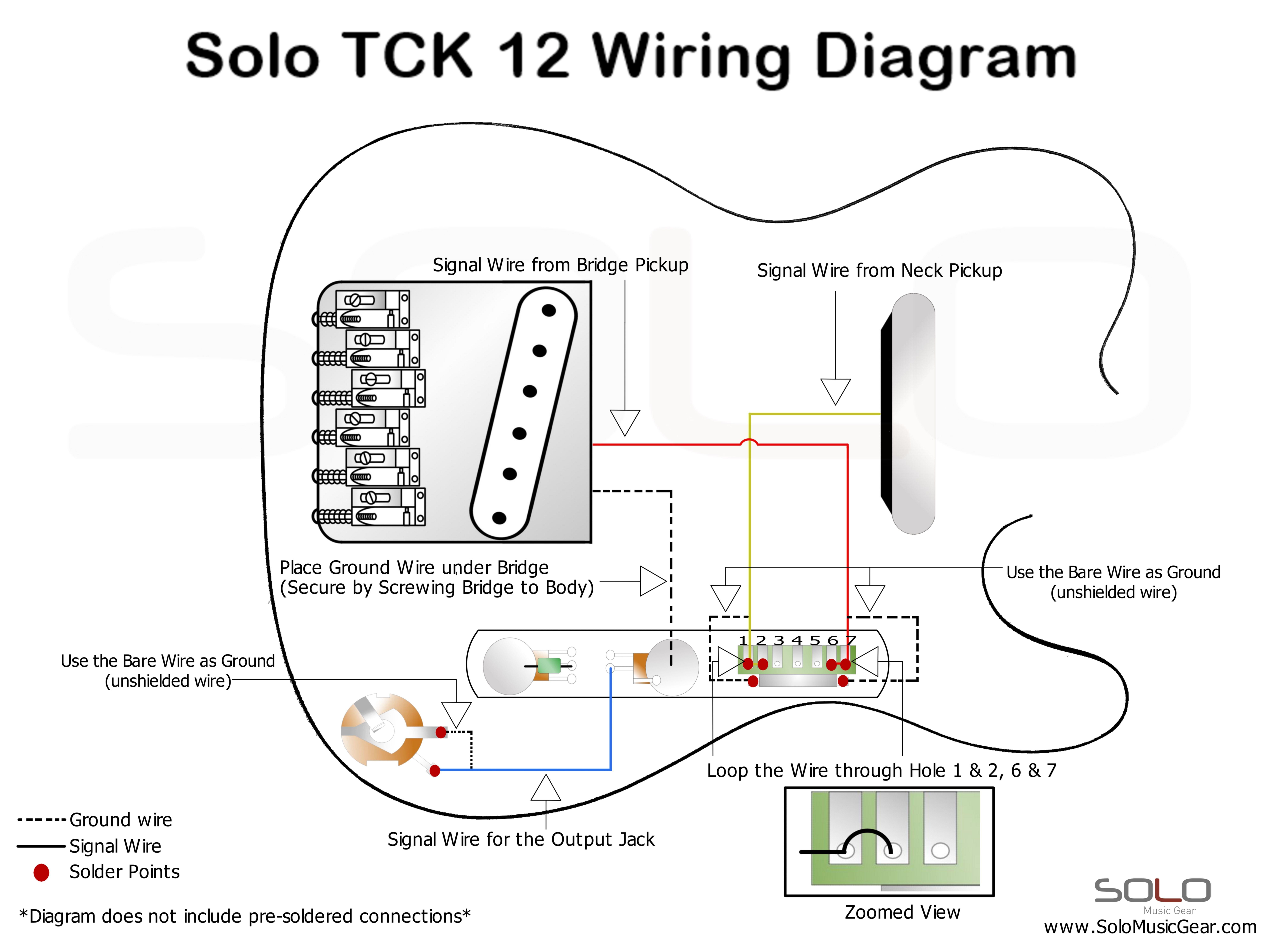 wiring guitar
