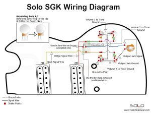 SOLO SG SetNeck Style Wiring Guide | Solo Music Gear