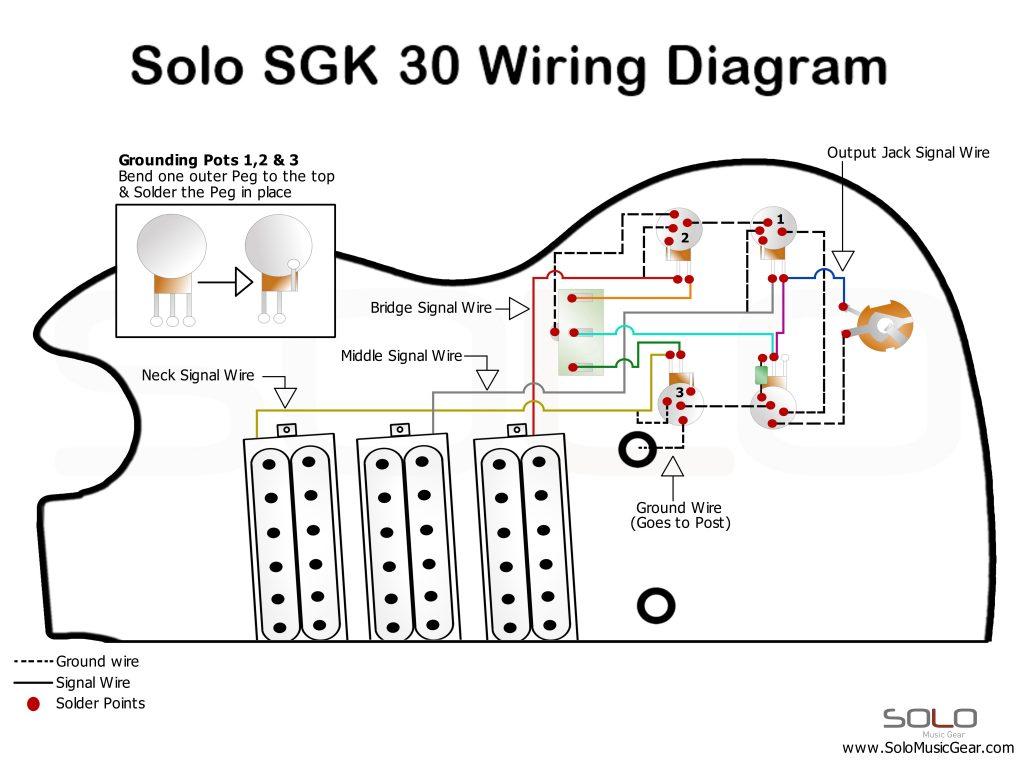 2 pickup bass wiring diagram