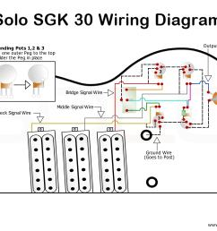 solo sg style 3 pickup wiring guide [ 8000 x 6000 Pixel ]