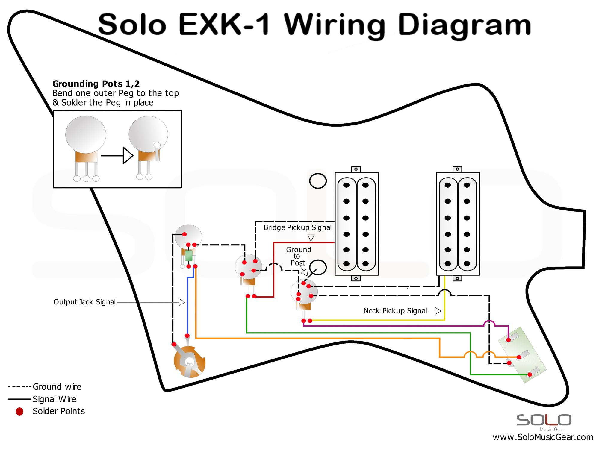 hight resolution of solo ex style wiring guide