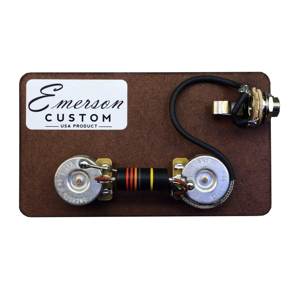 hight resolution of emerson les paul junior prewired kit