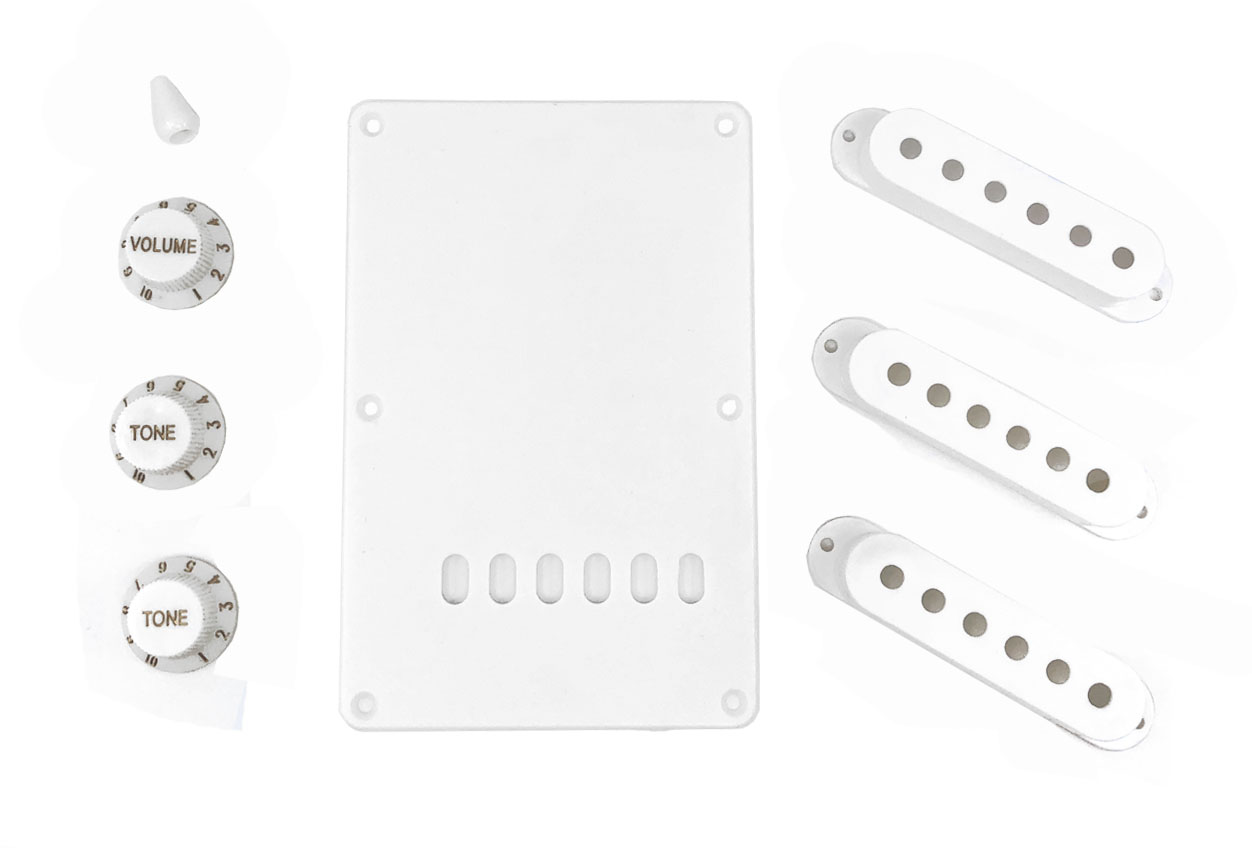 Solo St Style White Plastic Pack
