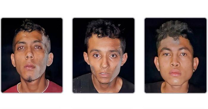 Tres pandilleros capturados con armas ilegales en Usulután