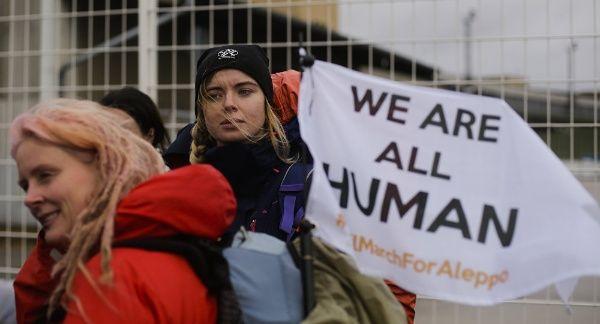 Marcha desde Berlín hasta Alepo contra el Gobierno sirio