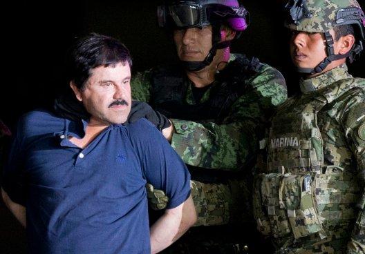 Joaquín 'El Chapo' Guzmán es extraditado a EEUU