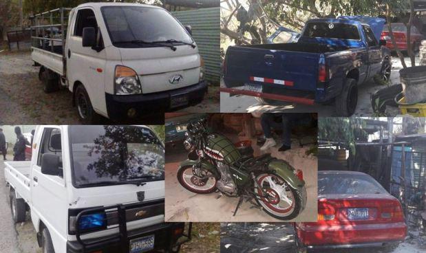 Empleado de Alcaldía de Cojutepeque implicado en robo de vehículos