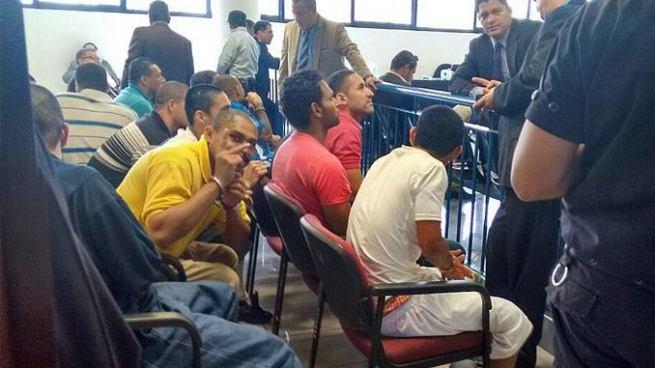 Envían a prisión a 11 extorsionistas de la pandilla MS en Morazán