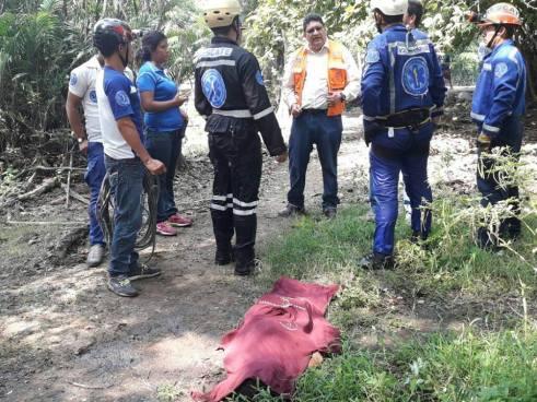 Localizan cadáver de una niña ahogada en la laguna El Jocotal en San Miguel
