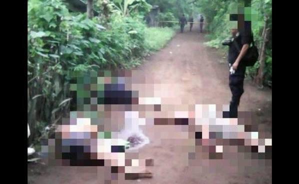 Pandilleros simulan operativo para asesinar a tres miembros de una familia en San Miguel