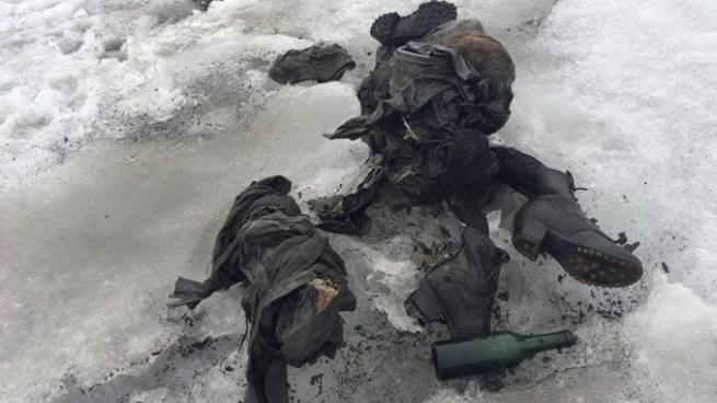 Encuentran congelados a pareja que desapareció hace 75 años en los Alpes Suizos
