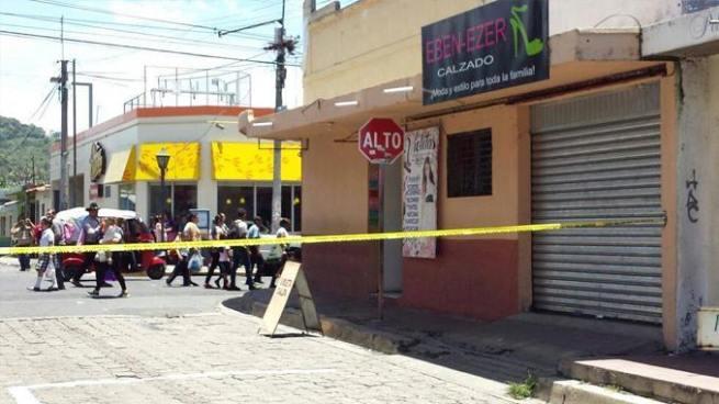 Matan a balazos a comerciante de ropa en el municipio de San Martín