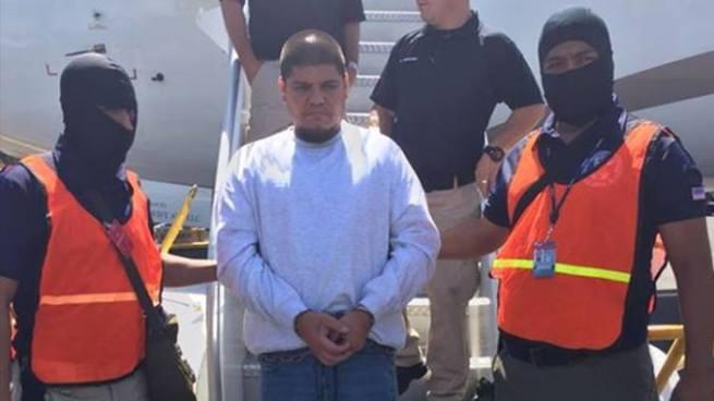 """Deportan y capturan al """"Greñas"""", peligroso líder de la MS"""