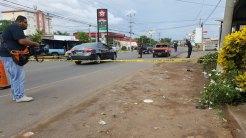 Matan conductor en Usulután